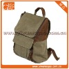 best sell Trendy military style canvas backpack