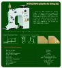 GK35-2 chainstitch bag closer machine