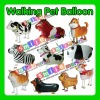 STOCK Factory outlets MIX STYLE wholesale CHEAP 2012 hot selling YOUR OWNS animal walking helium balloon