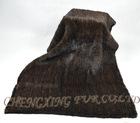 CX-B-12 Genuine Hand Knitted Mink Blanket