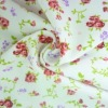 Nylon spandex Knitting Rose printed swimwear fabric