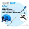 2 Stroke Gasoline Harvester 52cc Olive Harvester Shaker Sweep Hedge Trimmer