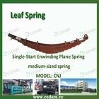 Conventional leaf spring