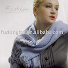 Inner Mongolia 100% Cashmere scarf with sequin