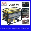 6.5kw gasoline generator with manual start