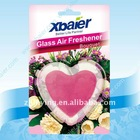 Heart shaped glass air freshener Romantic style