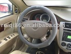 Wholesale high quality Steering Wheel Cover RQ-2029 beige