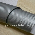 1.52M Width Chrome 3D Carbon Sticker With 3M Air Free Bubbles