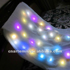 colorful and shining lighted led blankets