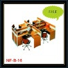 office workstations, four seaters, colors optional, OEM, low prices, good quality