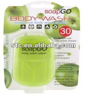 Soap Paper,50 Sheets of Fragrant Soap Leaves in Compact Pack.