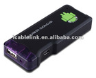 Portable MK802 Android 4.0 Google IPTV Smart TV Box With DDR3 1G Mini PC WIFI CPU A10 1.5GHz