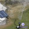 New Solar Pump Garden Fountain Pond Water Feature kit
