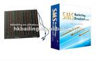 Professional RS232/USB wireless modem pool 160 com Software for 8 port 16 port 32 port 64 port gsm gprs modem pool