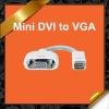 "Mini DVI to VGA Monitor Adapter Cable for Appple MacBook Mac mini iMac PowerBook G4 12"" KCA029"