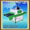 UV drying machine with conveyor belt