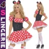 Micky Mouse costume ,party costume,sexy fancy dress