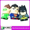 2012 new design cartoon usb for promotion super man