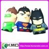 2012 new design cartoon usb for promotion super man