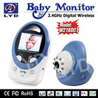 2.4Ghz 4 Channels Night Vision Li-Bettery Zoom in And out Two Way Speak Digital Wireless Baby Care Product