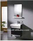 White birch bathroom cabinet
