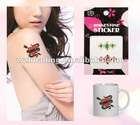 crystal temporary body tattoos sticker