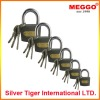 high security cast iron padlock/steel padlock