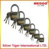 high security cast iron padlock/steel padlock