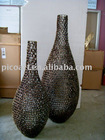 metal vase,deco sculpture vase