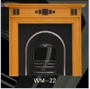 wooden fireplace mantel(WM-22)