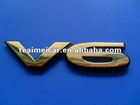 Popular ABS auto decoration car emblem letter badge