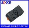 11 pin DIN rail relay socket manufacturer SUB011-E