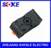 11 pin DIN rail relay socket manufacturer SUB011-E