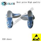 ESD shoes antistatic pvc/pu sole material cleanroom compliant