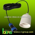 External 1W LED lamp component