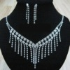 Fine bridal jewelry tassel necklace