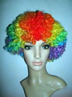 wholesale cheap colorful synthetic hair wigs /fan piece