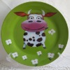 Full decal decorative ceramic plates and dishes