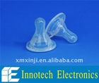 Medical liquid Silicone rubber nipple for baby