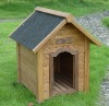 HL346 Woden dog house with asphaltic felt