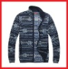 100% Polyester Winter Printed Winter Fleece Jacket