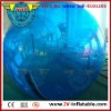 blue color inflatable water walker ball