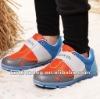 Famous brand microfiber mesh boy sports shoe