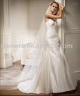 Satin Heart-shaped Strapless Mermaid Sexy dress wedding