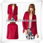 2013 Summer Latest Ladies Dakota Drape Jacket,Ladies Jacket