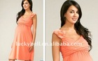 Hot sale New Custom-made Plus size Spaghetti Strap Maternity dress