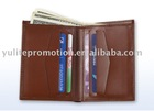 Leather wallets, card holders, business card holders