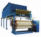Four color roller printing machine