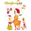 Factory directly---custom wall sticker! DIY Christmas kids wall sticker home decor