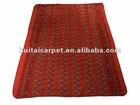 red muslim prayer carpet
